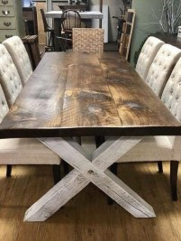 Trendy Dining Table Design Ideas That Looks Amazing 47