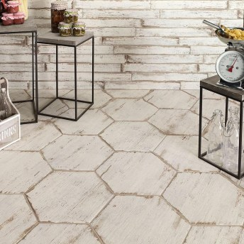 Unusual Diy Painted Tile Floor Ideas With Stencils That Anyone Can Do 25