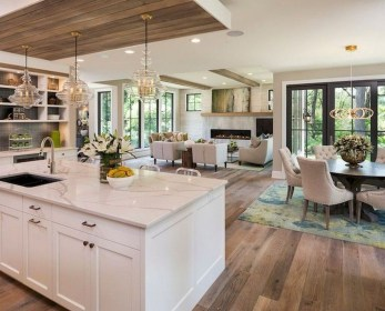 Unusual White Kitchen Design Ideas To Try 46