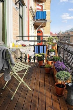 Casual Small Balcony Design Ideas For Spring This Season 43