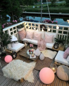 Casual Small Balcony Design Ideas For Spring This Season 46