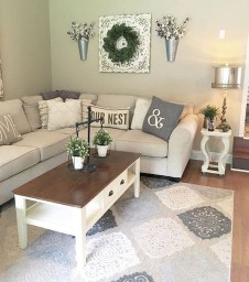 Catchy Farmhouse Decor Ideas For Living Room This Year 09