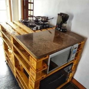 Chic Diy Projects Pallet Kitchen Design Ideas To Try 20