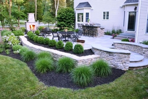 Elegant Backyard Patio Design Ideas For Your Garden 48