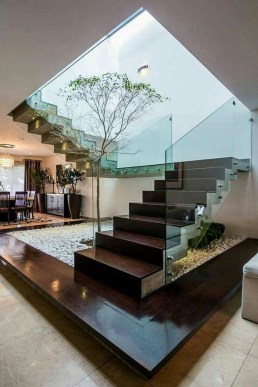 Gorgeous Wooden Staircase Design Ideas For Branching Out 52