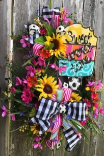 Hottest Summer Wreath Design And Remodel Ideas 04