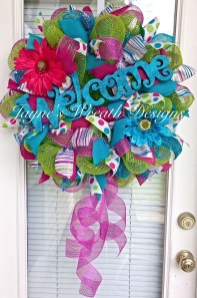 Hottest Summer Wreath Design And Remodel Ideas 23