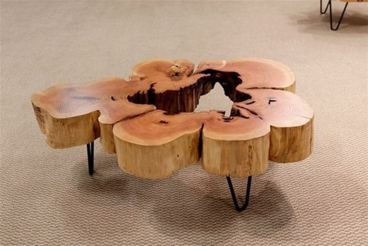 Impressive Home Furniture Ideas With Resin Wood Table 01