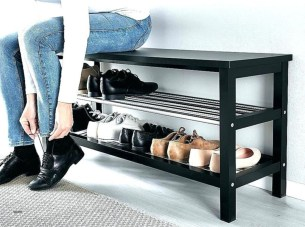 Latest Shoes Rack Design Ideas To Try 35