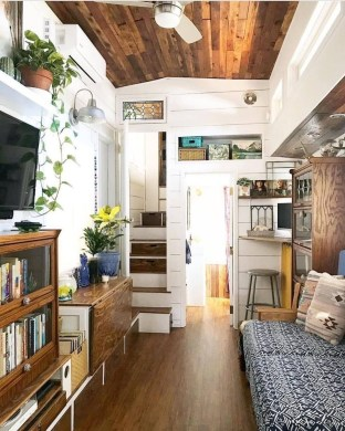 Rustic Tiny House Interior Design Ideas You Must Have 15
