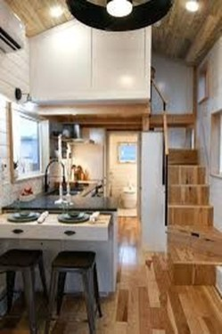 Rustic Tiny House Interior Design Ideas You Must Have 24