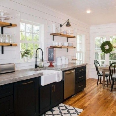 Trendy Fixer Upper Farmhouse Kitchen Design Ideas 13