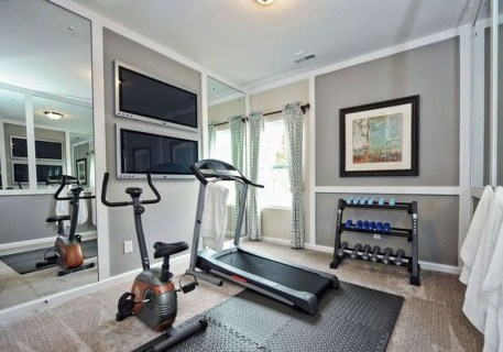 Astonishing Home Gym Room Design Ideas For Your Family 24