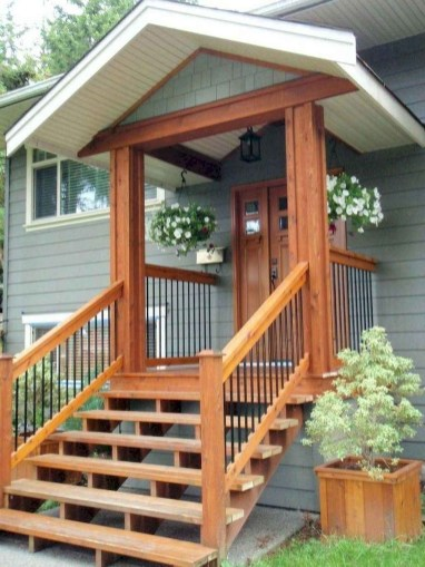 Comfy Porch Design Ideas To Try 44
