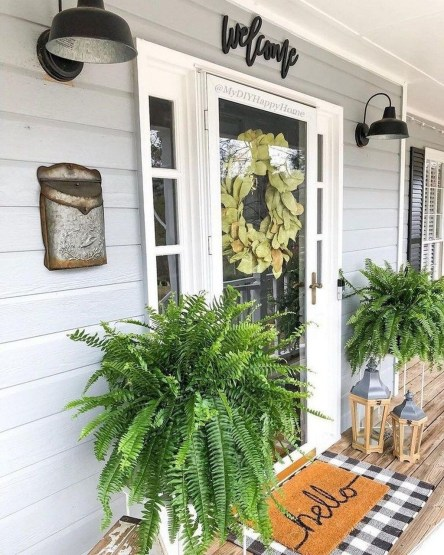 Perfect Porch Planter Design Idseas That Will Give Your Exterior A Unique Look 04