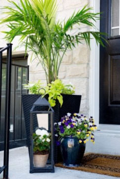 Perfect Porch Planter Design Idseas That Will Give Your Exterior A Unique Look 10