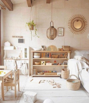 Pretty Playroom Design Ideas For Childrens 26