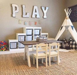 Pretty Playroom Design Ideas For Childrens 30