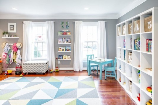 Pretty Playroom Design Ideas For Childrens 43