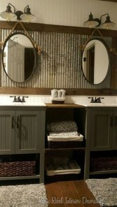 Wonderful Single Vanity Bathroom Design Ideas To Try 38