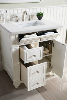 Wonderful Single Vanity Bathroom Design Ideas To Try 45