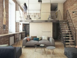Adorable One Bedroom Apartment Design Idas06