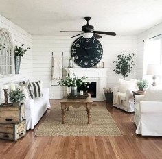 Amazing Country Living Room Design Ideas19
