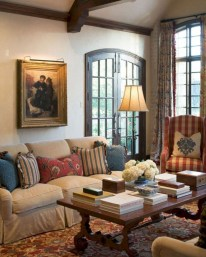 Amazing Country Living Room Design Ideas46