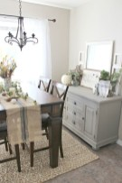Awesome Dining Room Buffet Table Décor Ideas29
