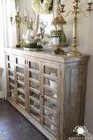 Awesome Dining Room Buffet Table Décor Ideas30