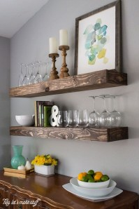 Awesome Dining Room Buffet Table Décor Ideas32