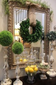 Awesome Dining Room Buffet Table Décor Ideas37