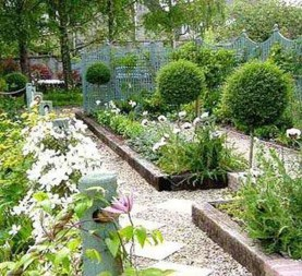 Best Ideas For Formal Garden Design39