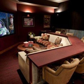 Cool Basement Living Room Design Ideas34