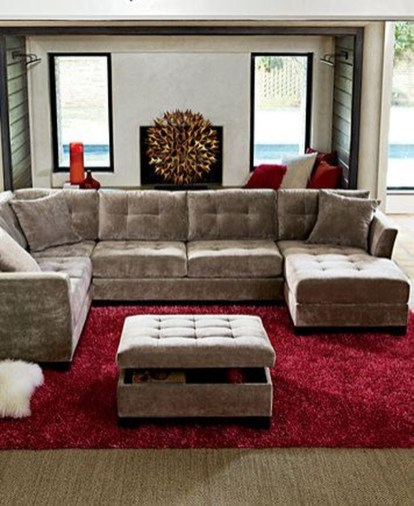 Fantastic Custom Sectional Sofa Design Ideas36