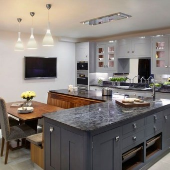 Fantastic L Shaped Kitchen Design Ideas36
