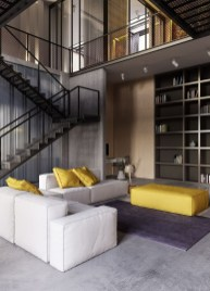 Fantastic Modern Style Apartment Designs Ideas24