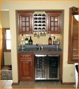 Gorgeous Cabinet Design Ideas For Small Living Room03