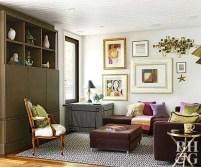 Gorgeous Cabinet Design Ideas For Small Living Room16