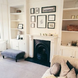 Gorgeous Cabinet Design Ideas For Small Living Room23