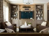 Gorgeous Cabinet Design Ideas For Small Living Room33