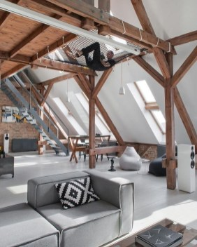 Adorable Loft Apartment Decor Ideas33