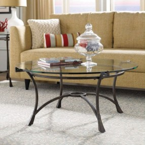 Awesome Glass Coffee Tables Ideas For Small Living Room Design13