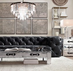 Awesome Glass Coffee Tables Ideas For Small Living Room Design27