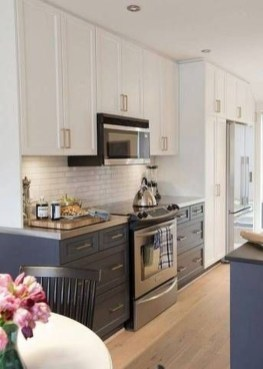 Comfy Kitchen Remodel Ideas For Small Kitchen07