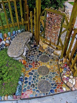 Creative Rock Garden Ideas For Your Backyard08