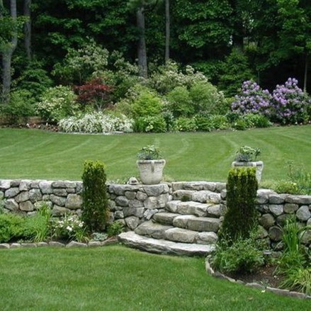Creative Rock Garden Ideas For Your Backyard24