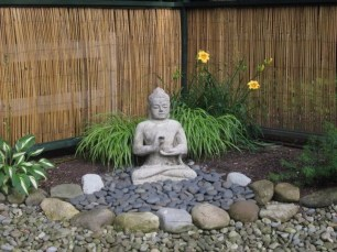 Creative Rock Garden Ideas For Your Backyard27
