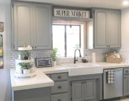 Easy Kitchen Cabinet Painting Ideas01