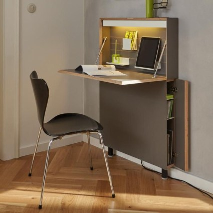 Fabulous Office Furniture For Small Spaces01